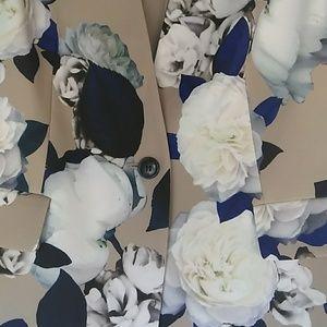 Nine West Jackets & Coats - Nine West Floral Vest